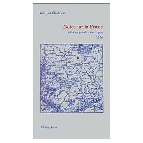Notes sur la Prusse Clausewitz