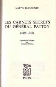 carnets-secrets-patton-blumenson