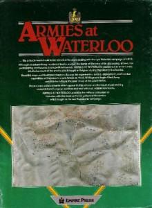 Armies at Waterloo Bowden verso