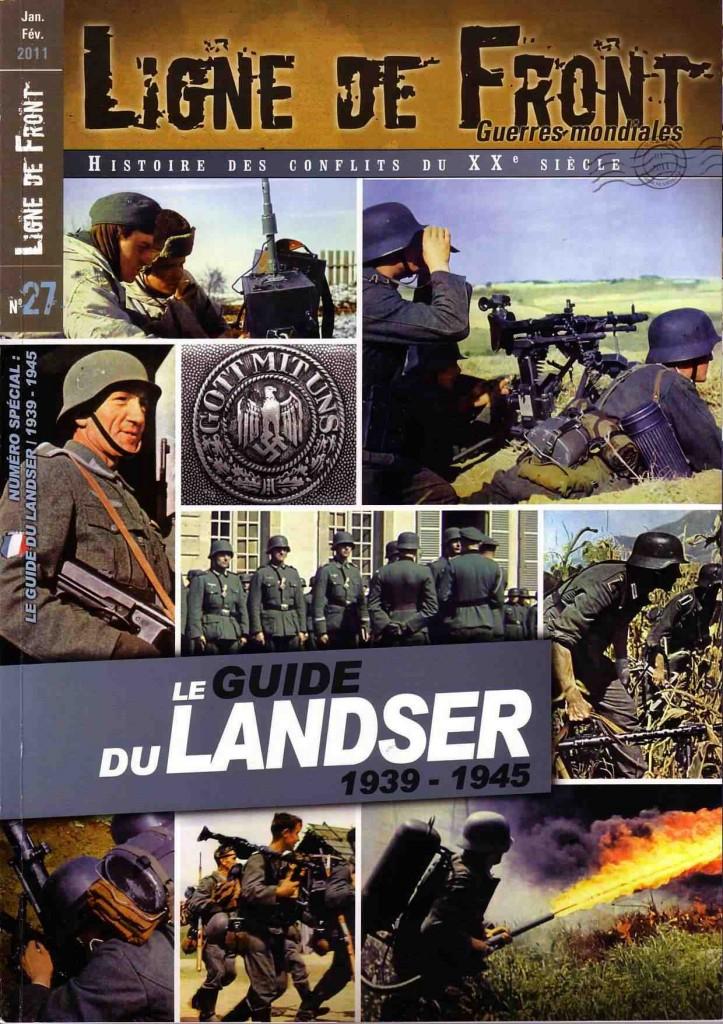 Numéro spécial de Ligne de front consacré au soldat allemand de la seconde guerre mondiale