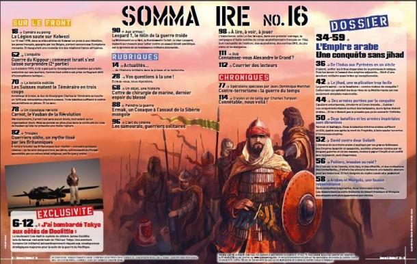Guerres & Histoire Sommaire #16