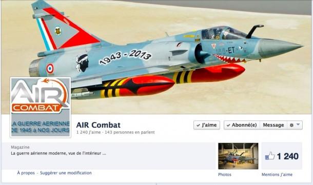 Air COmbat sur Facebook