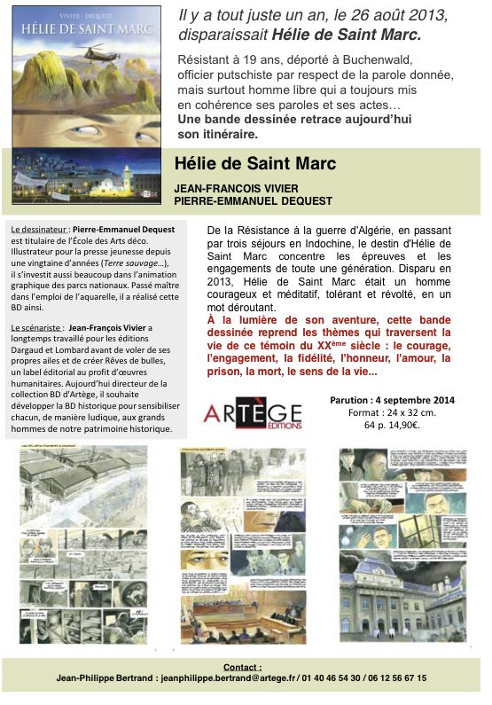 Editions Artège Hélie de Saint-Marc