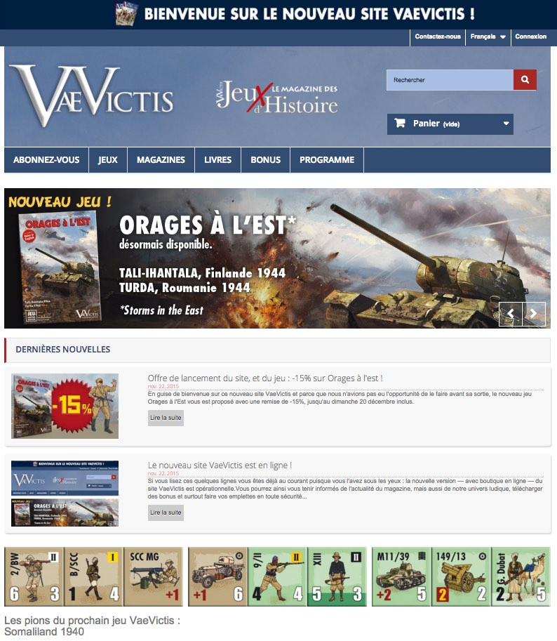 Vae Victis site web