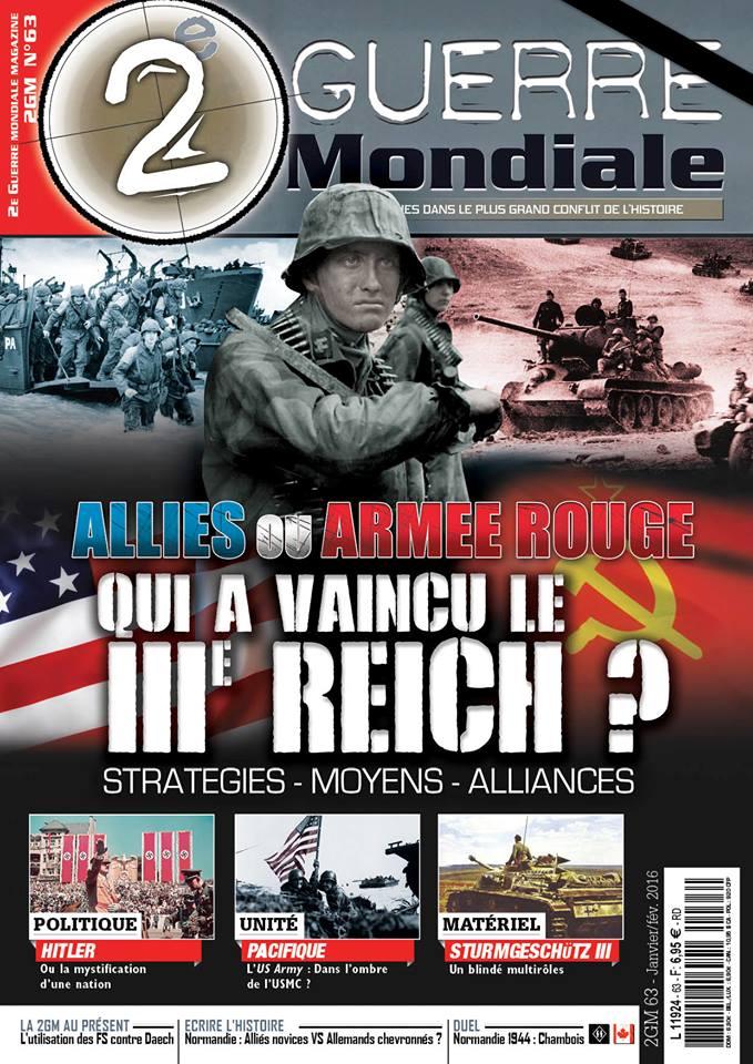 2e guerre mondiale #63 magazine