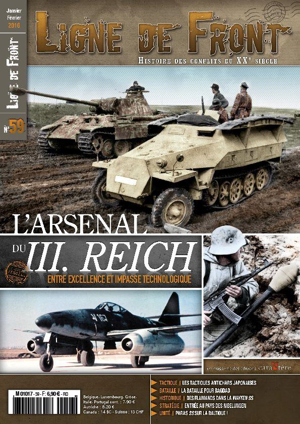 Ligne de front #59 magazine