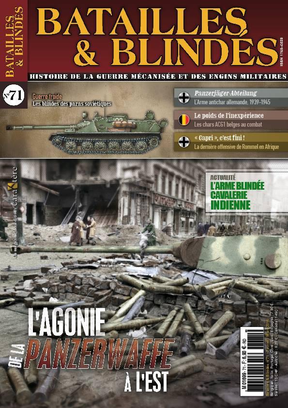 Batailles & blindés #71 magazine