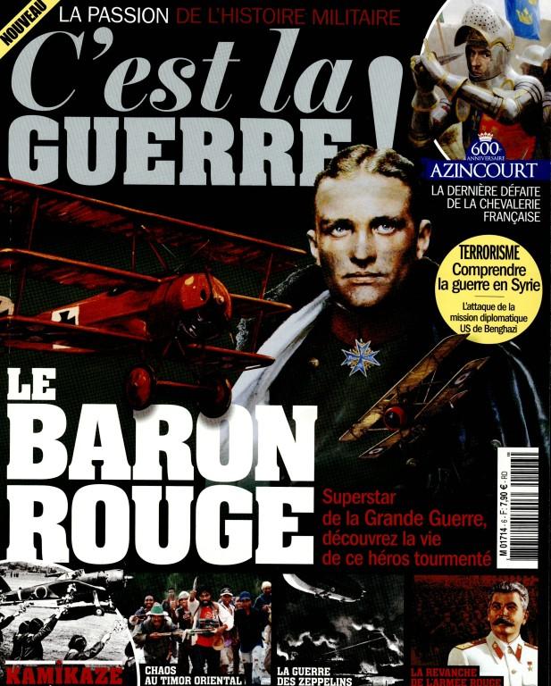 C'est la guerre #6 magazine