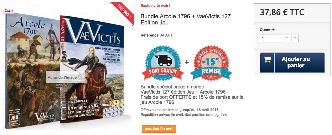 Bundle Vae Victis Avril 2016