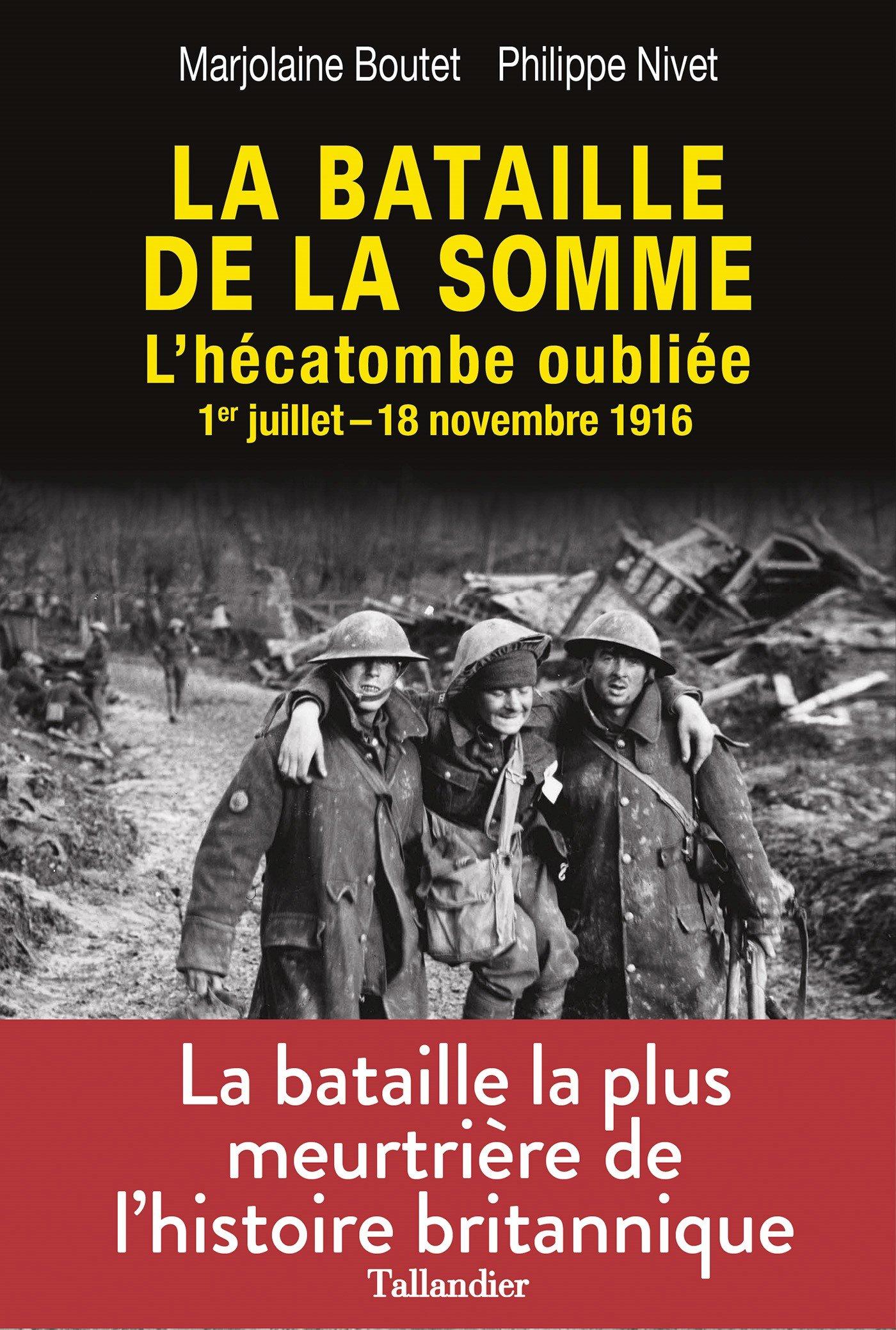 La bataille de la Somme Boutet Nivet