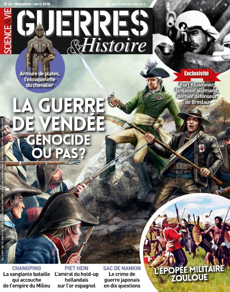 Couverture guerres et Histoire n°42