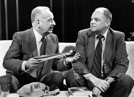 Jean Lartéguy et Marcel Bigeard