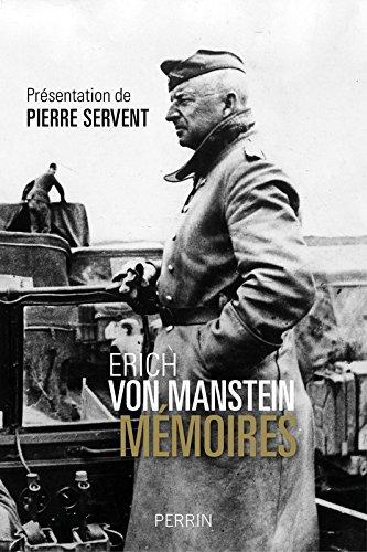 Mémoires Erich von Manstein