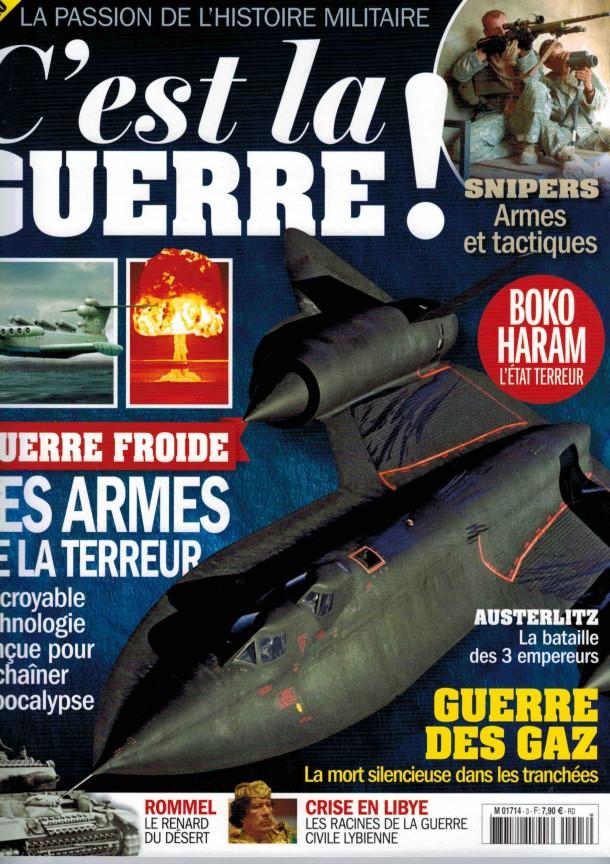 C'est la guerre #3 Magazine 2