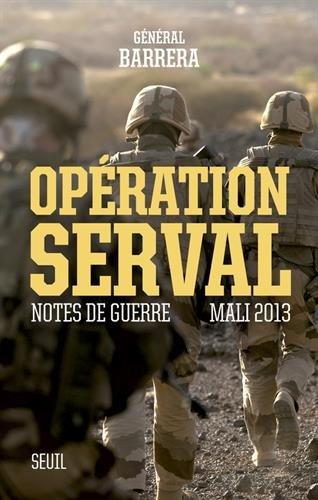 Opération Srval général Barrera