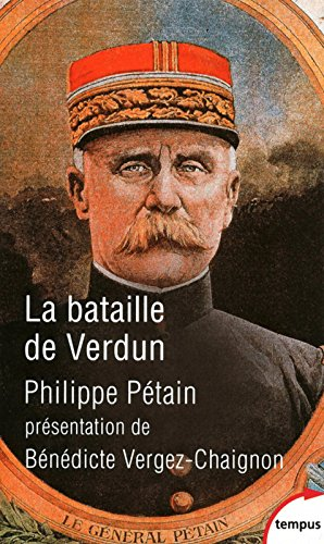 La bataille de Verdun Pétain