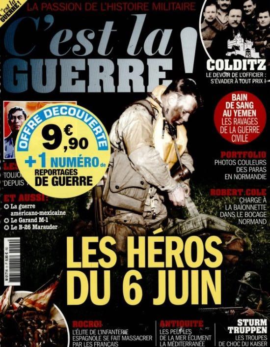 C'est la guerre ! #9 magazine